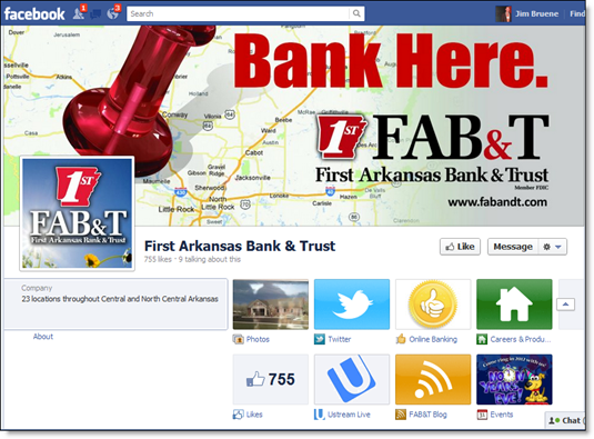 FAB&T Facebook page