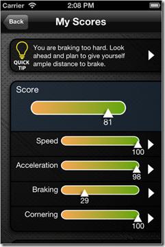 StreetOwl safe driving algorithm