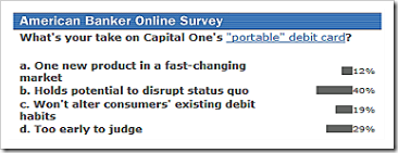 American Banker poll