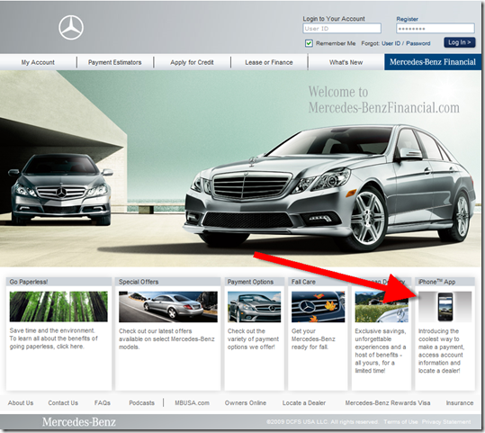 Auto financing archives finovate for Www mercedes benz financial