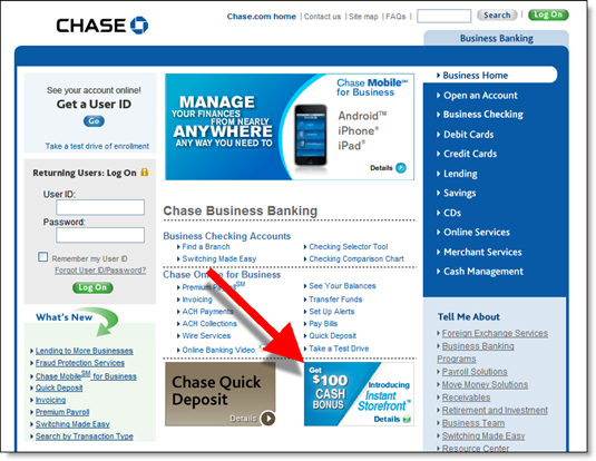 Chase bank archives page 2 of 6 finovate for Chase business card customer service