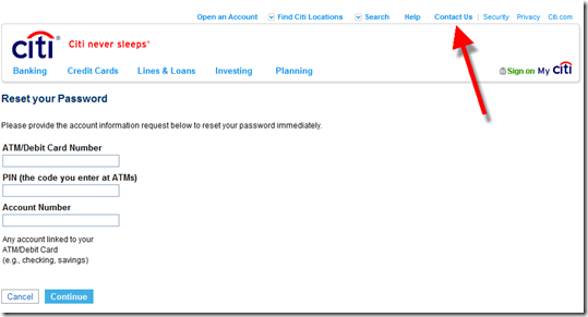 Citibank Secure Login >> Out Of The Inbox Citibank Offers To Help Users Restart Their Online