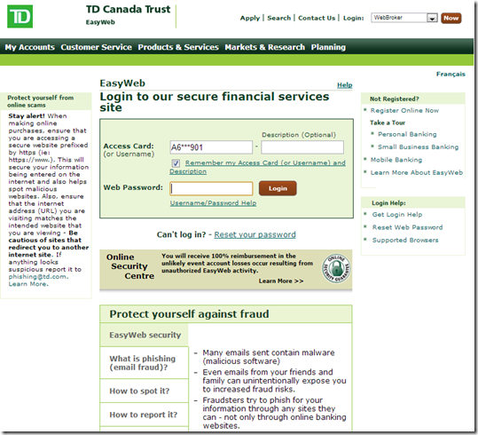 Previous login page prior to june 4 2013