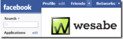 Link to Wesabe on Facebook