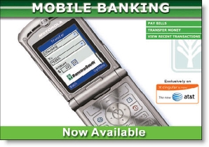 BancorpSouth mobile banking banner