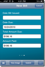 Mitek photo bill pay verify data
