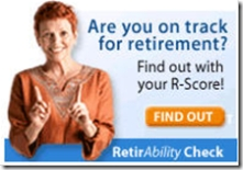Nationwide RetirAbility check banner in Retirement section of its website