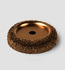 BU-094-2 1/2&quot; BUFFING WHEEL 1/4&quot; HOLE