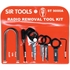 ST9000A-12 PC DELUXE RADIO REMOVAL TOOL KIT