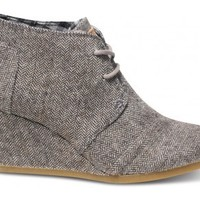 Herringbone Women's Desert Wedges image