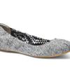 Tweed Lurex Women's Ballet Flats
