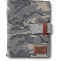 Washed Canvas Camo Travel Journal image