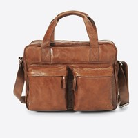 Acacia leather auburn image
