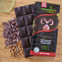 Dark pecans and maca monkey image
