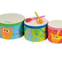 Bongo Drum Trio image