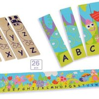 Double Sided Alphabet Puzzle image