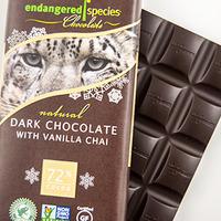 Dark vanilla leopard image