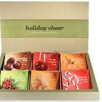 Assortment of holiday teas bags image