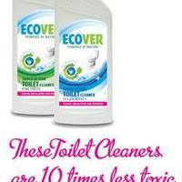 Toilet cleaning image