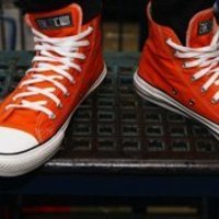 Ethletics Orange high tops image