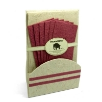 Stationery Set Burgundy image