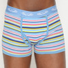 Men's Pastel Vari Stripe Fly Front