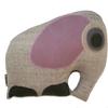 Musahar Organic Pillow - Mother Elephant Rose
