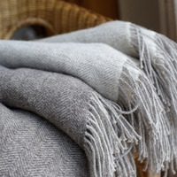 Organic Mohair Throw Blanket image