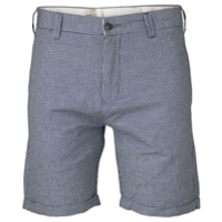 Blue Hopsack Shorts image