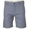 Blue Hopsack Shorts