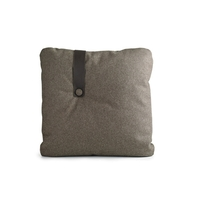 Addinterior brown cushion with leather strap image