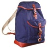 Organic canvas back pack