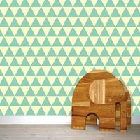 Wallpaper by w-form - Wallpaper Triangles Mint image