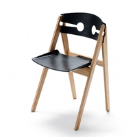 We-Do-Wood Dining Chair No. 1, Black image