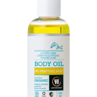 No Perfume Baby body oil organic image
