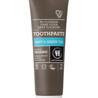 Mint & green tea toothpaste organic image