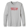 Mens Long-Sleeved Stamp Logo T-Shirt