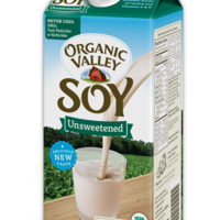 Soy milk unsweetened image