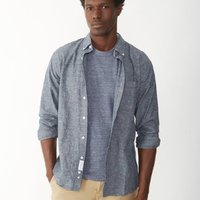 Apolis Japanese Chambray Button Down Shirt image
