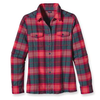 Womens Long-Sleeved Fjord Flannel Shirt