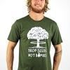 Drop Seeds Not Bombs T-Shirt