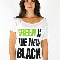 Green is the New Black Top image