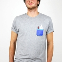 Pocket Print T-Shirt image