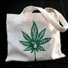 100% Hemp hand-made tote bag