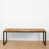 STAVE BENCH & STOOL
