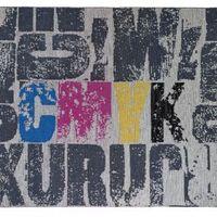 Ifestos CMYK letters pattern Carpet image