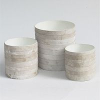 Leather horizontal pots image