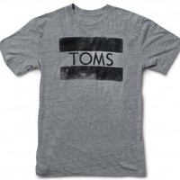 Men's Heather Grey Stamp Tee image