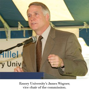 Emory University's James Wagner, vice chair of the commission.