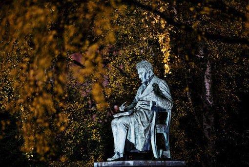 Kierkegaard statue